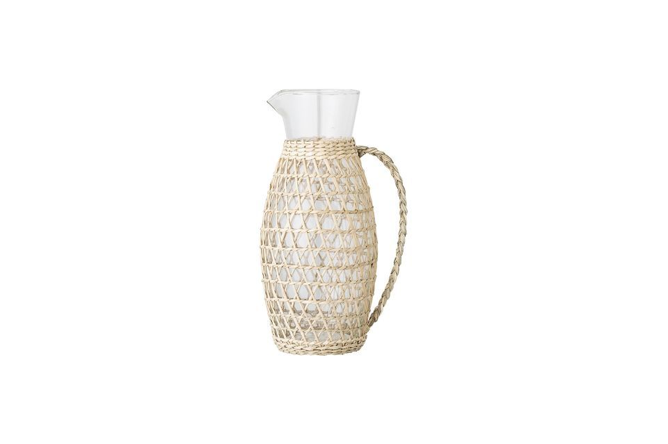 Daphne pitcher in transparent glass Bloomingville