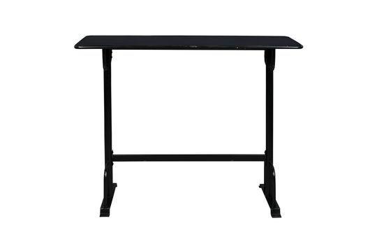 Declan black bar table