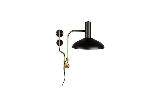 Devi black wall lamp