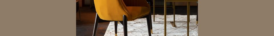 Material Details Dolly Ochre Velvet Armchair