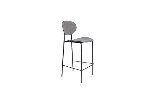 Donny Grey Counter Stool Clipped