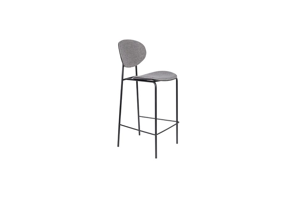 Donny Grey Counter Stool - 6