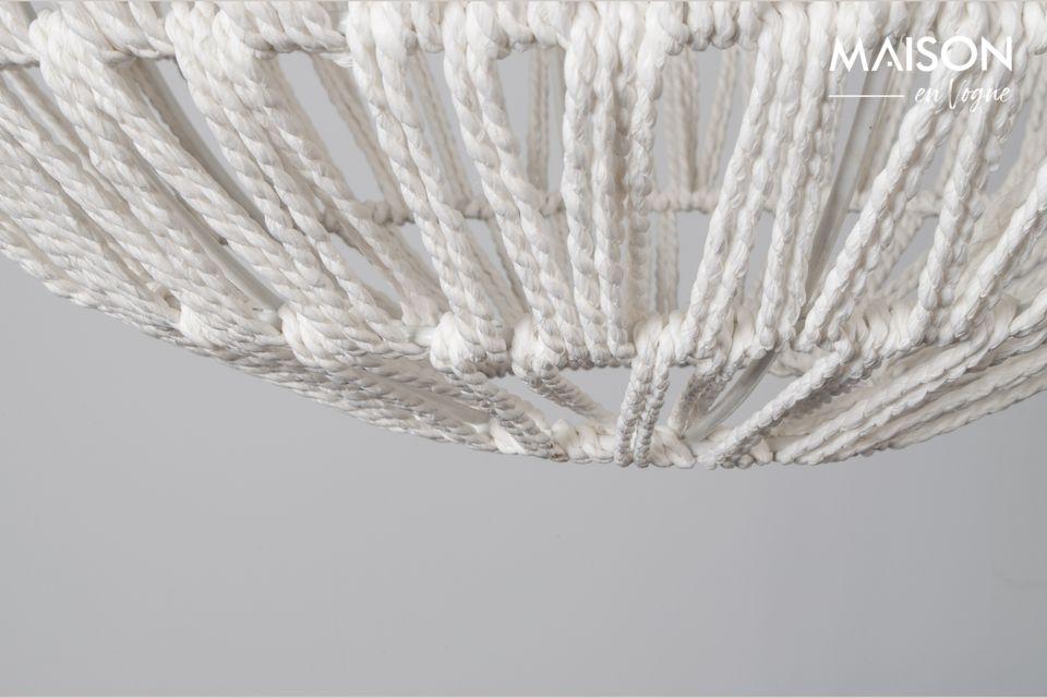 Drop White Cable Suspension - 6