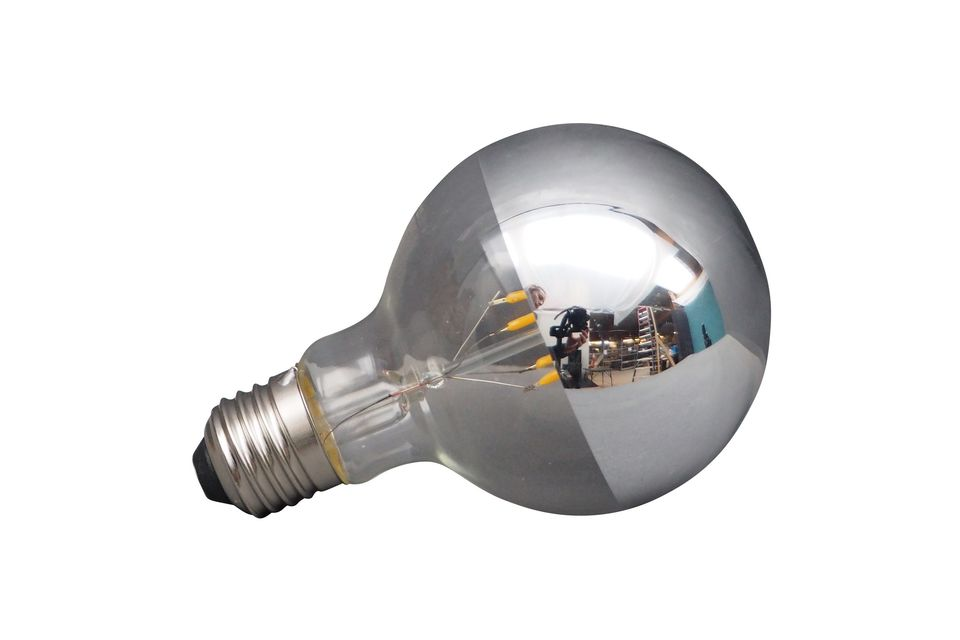 An LED light bulb with a touch of originality