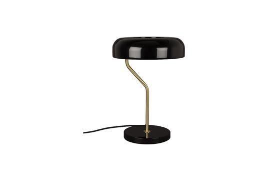 Eclipse black desk lamp