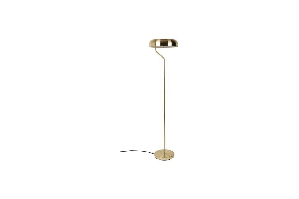 Eclipse Brass Floor Lamp - 8