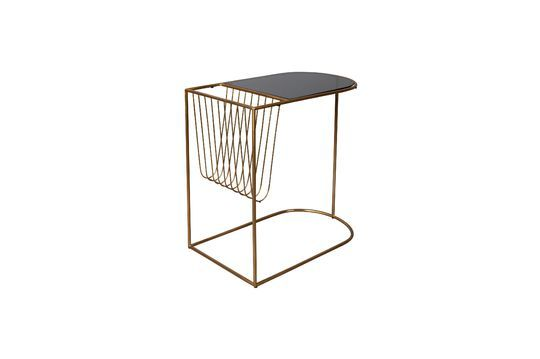 Eileen magazine rack side table Clipped
