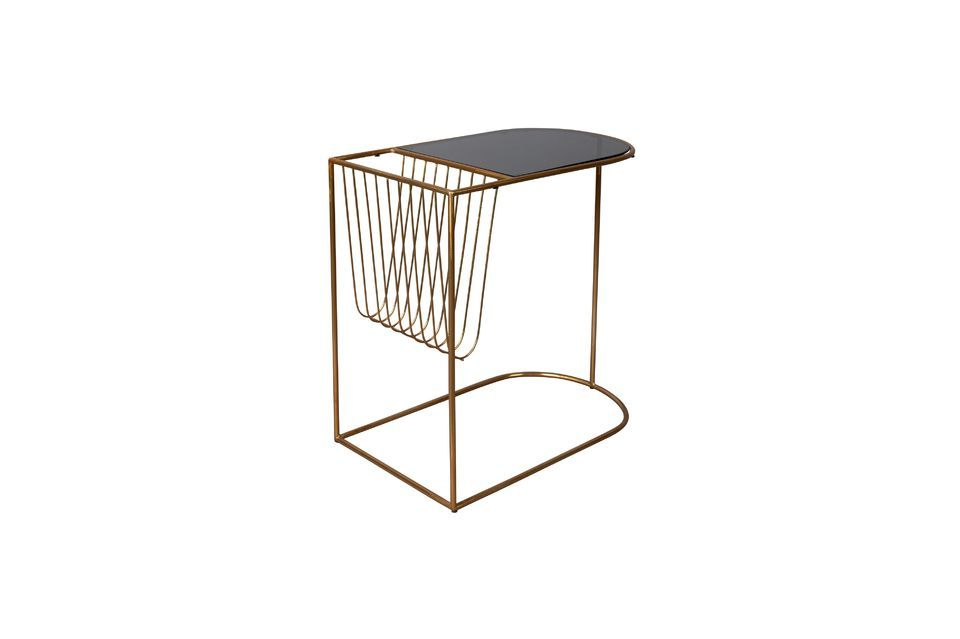 Eileen magazine rack side table - 6