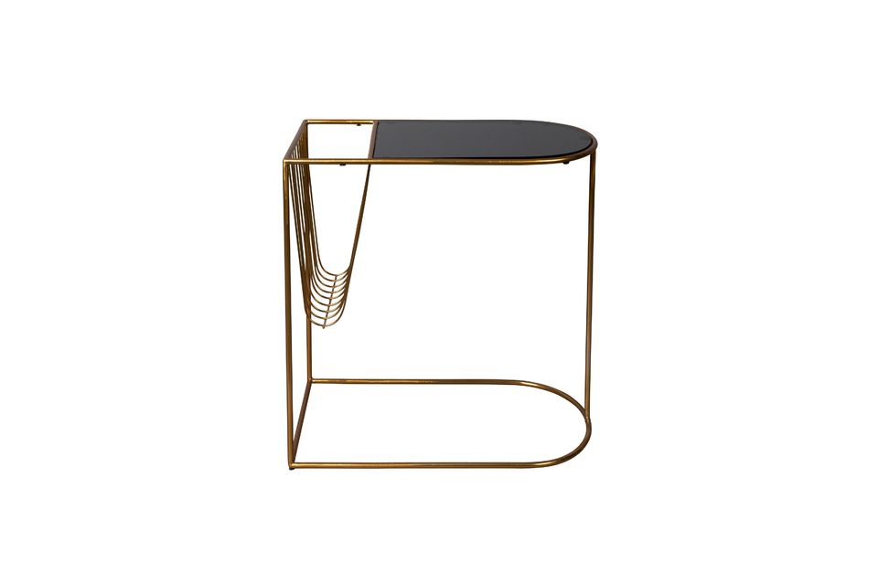Eileen magazine rack side table - 7