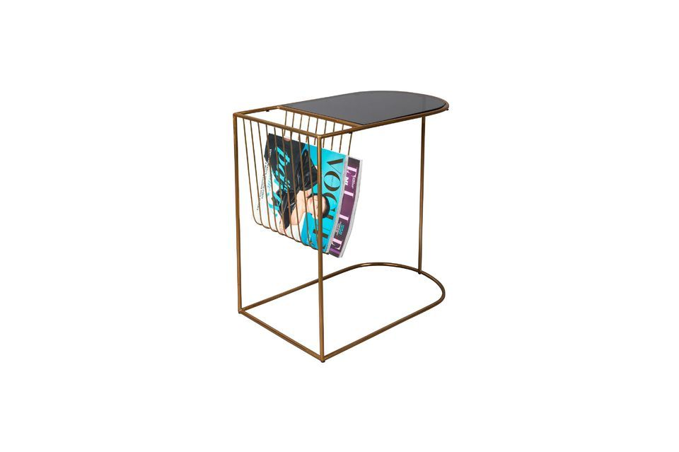 Eileen magazine rack side table - 8