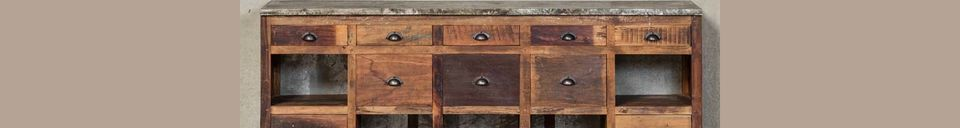 Material Details Fabrica Sideboard 10 drawers