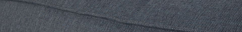 Material Details Fat Freddy Left corner grey-blue sofa