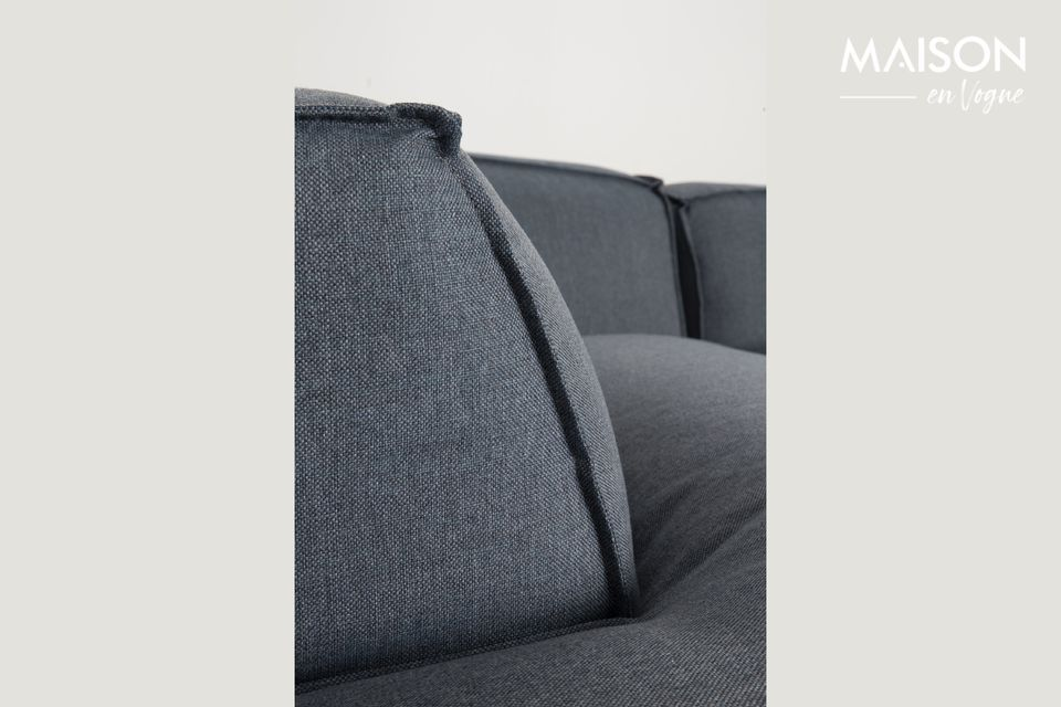 The Fat Freddy sofa offers an incredibly comfortable seat with its thick and soft upholstery