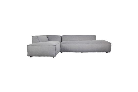 Fat Freddy light grey Left corner sofa Clipped