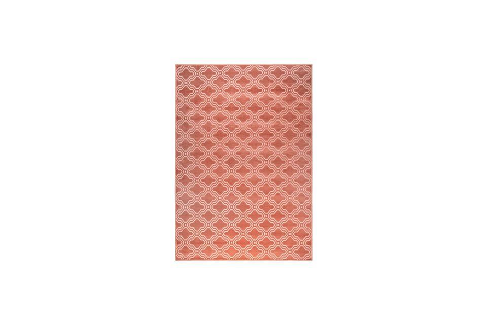 Feike Carpet 160X230 Pink White Label