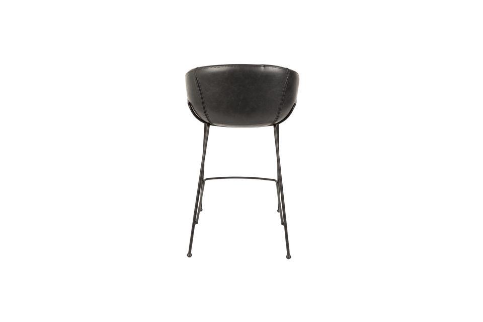 Feston Black Counter Stool - 8