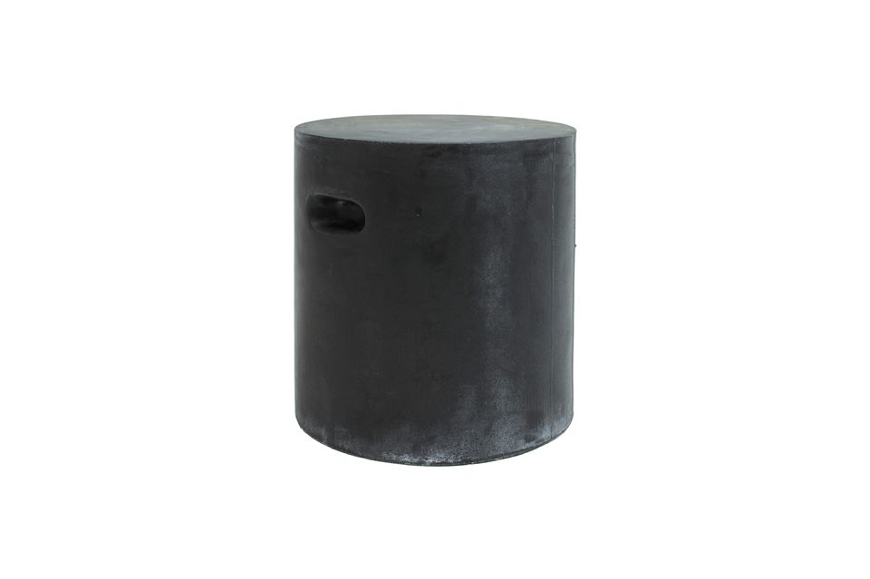 Fibreflex stool dark grey Pomax
