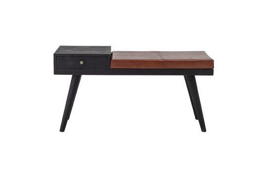 Filucca leather bench