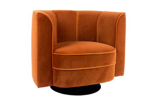 Fleur Lounge chair orange