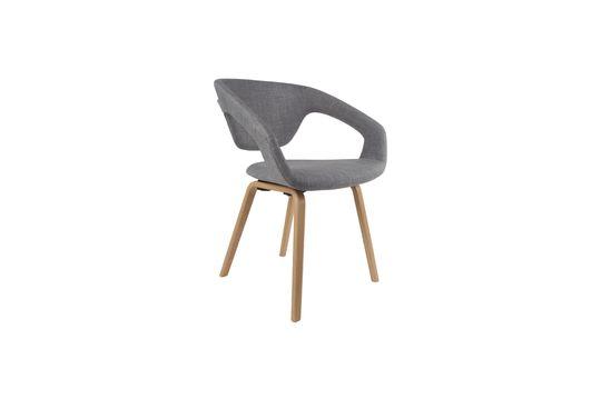 Flexback Armchair Natural Grey