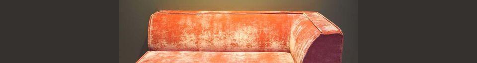 Material Details Floyd Pink corner sofa