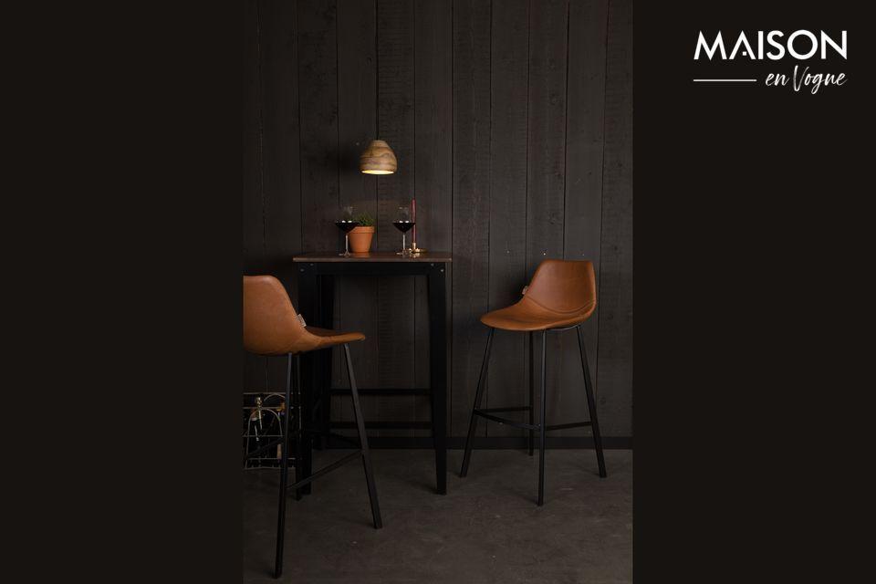 Franky brown bar stool Dutch Bone