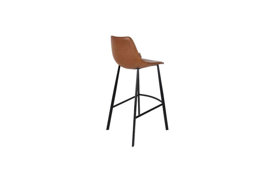 Franky brown bar stool - 5