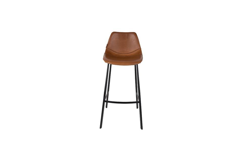 Franky brown bar stool - 6