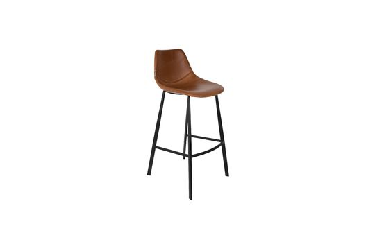 Franky brown bar stool Clipped