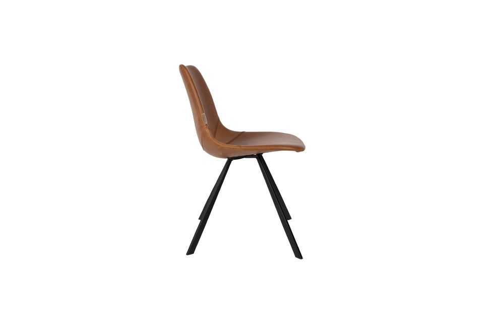 Franky brown chair - 7