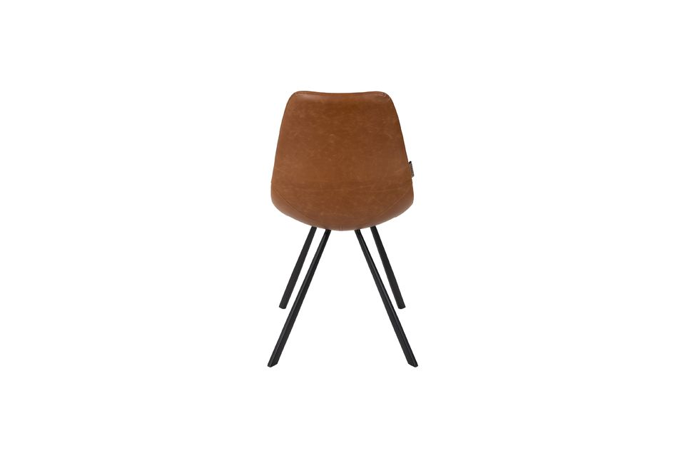 Franky brown chair - 8