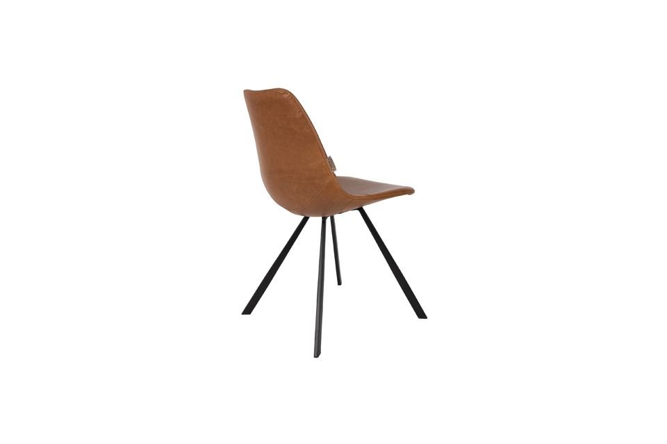Franky brown chair - 9
