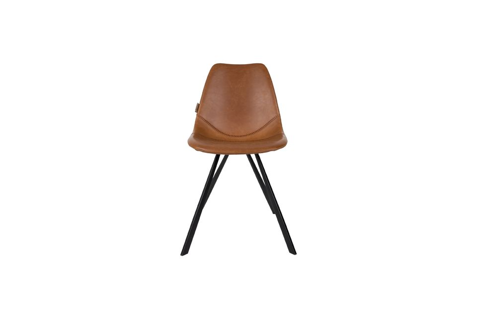Franky brown chair - 10