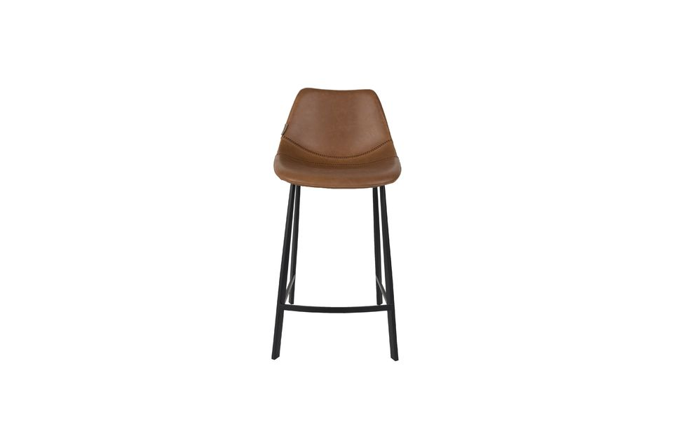 Franky brown counter stool - 7