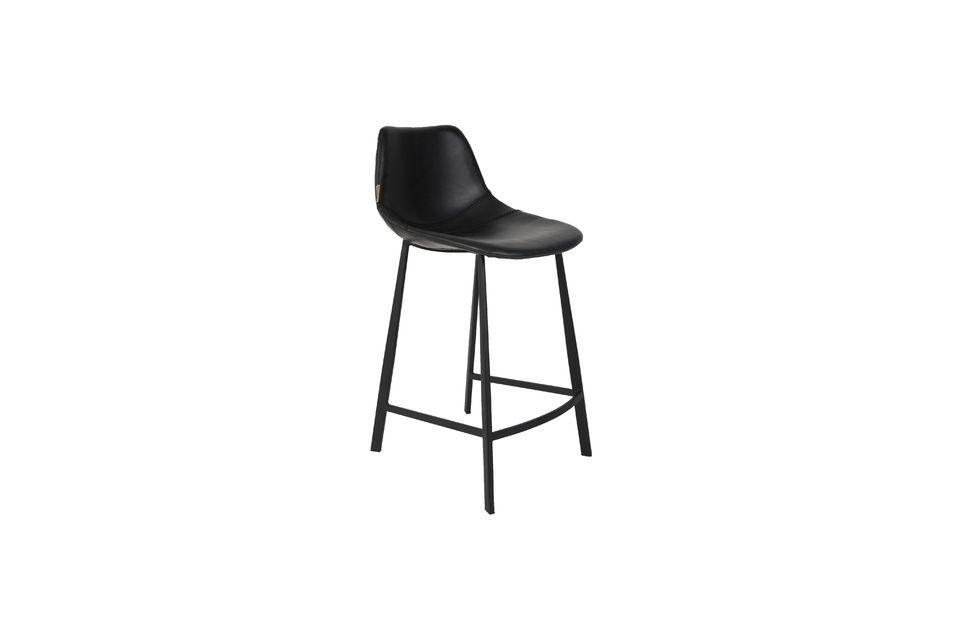 Franky Counter stool black Dutch Bone
