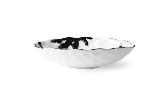 Fréthun porcelain soup plate palm