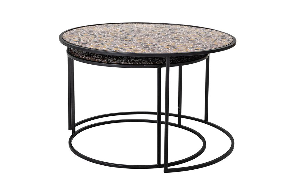 These two side tables