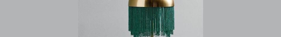 Material Details Fringes Table lamp