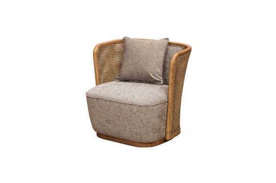 Gabin armchair and its cushion