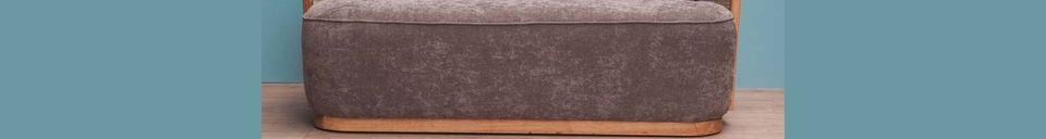 Material Details Gabin Bench