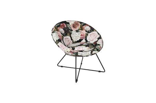 Garbo Multicoloured Velvet Armchair