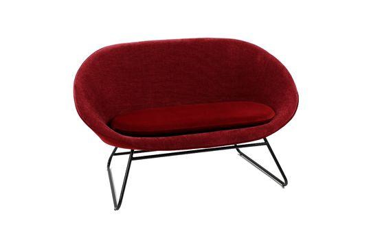 GarboBordeaux velvet sofa Clipped