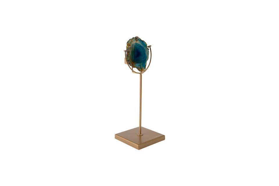 Gem Candleholder Gem blue - 5