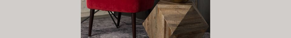 Material Details Geo Side Table