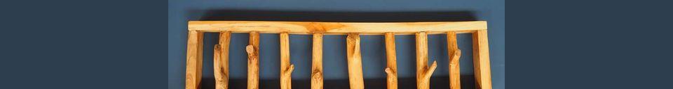 Material Details Gigny Coat racks Wood