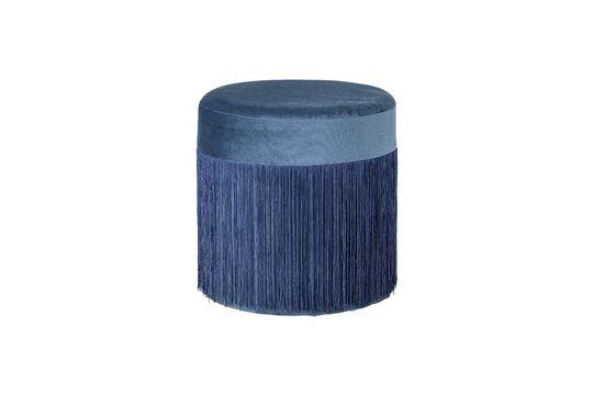 Grandma Blue pouf