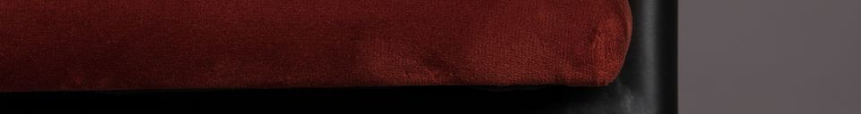 Material Details Haily Wine Red Armchair