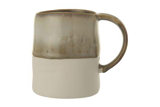Heather multicoloured stoneware mug Clipped