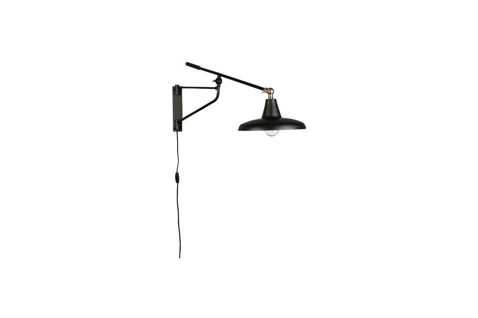 Hector black wall lamp - 5