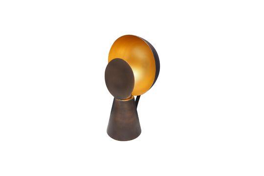 Hide & Seek black and gold Mini lamp